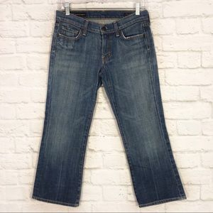 Citizens Of Humanity Kelly#063 Low Waist Crop Jean